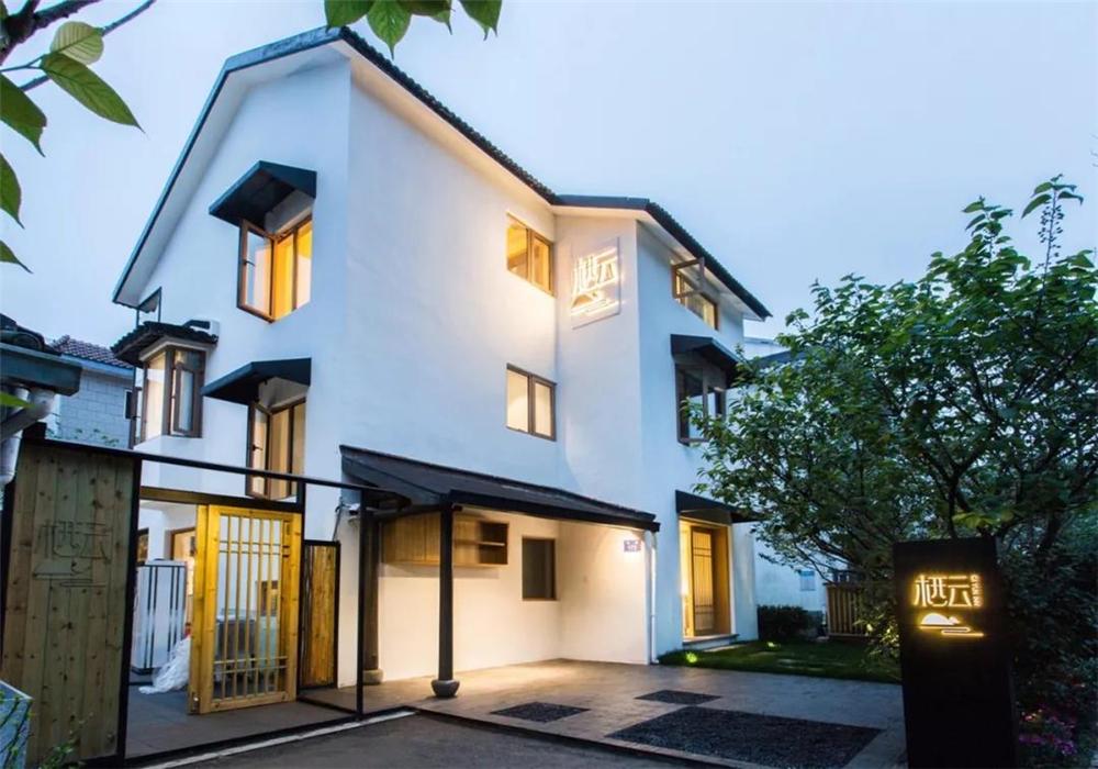 杭州民宿设计案例分析:栖云民宿—山脚下溪流边,静谧温暖的家