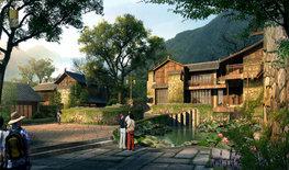 石头村度假酒店设计|重塑古代文人生活图景